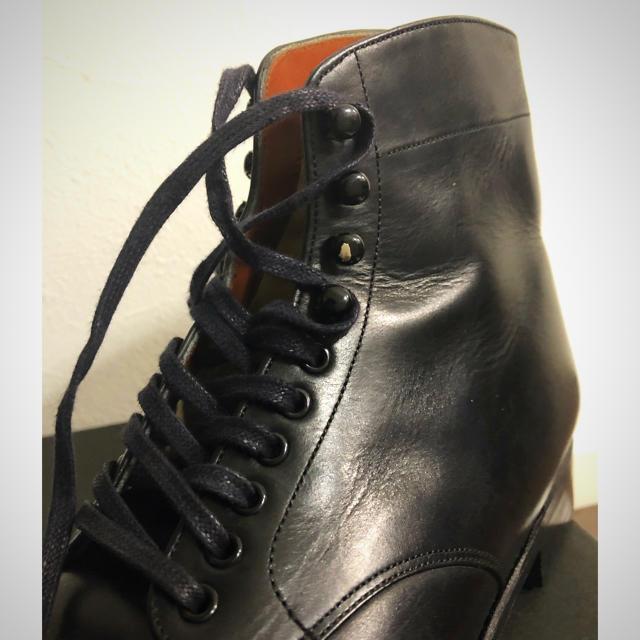 Scye(サイ)のscye サイ EDGWARE BOOT 5   Italian leather レディースの靴/シューズ(ローファー/革靴)の商品写真