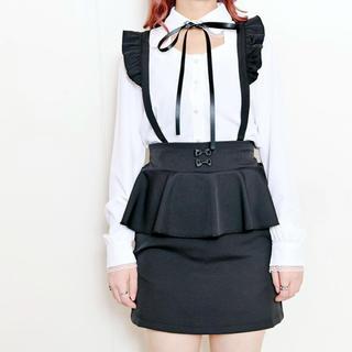マーズ(MA*RS)のMA*RS プチリボンペプラムタイトスカート (ミニスカート)