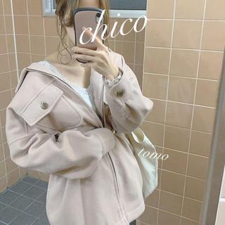 who's who Chico - 今季新作❁フーズフーチコ ウールシャツチュニック