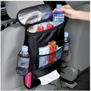 車用収納ポケット 車載バッグ  飲み物入れ 保温保冷