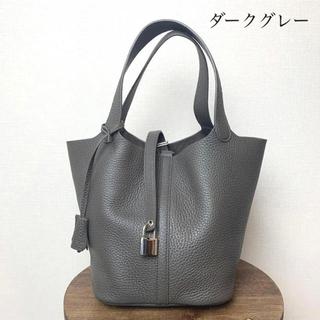 【新品未使用】エルメスピコタン ロック風 キューブハンドバッグ