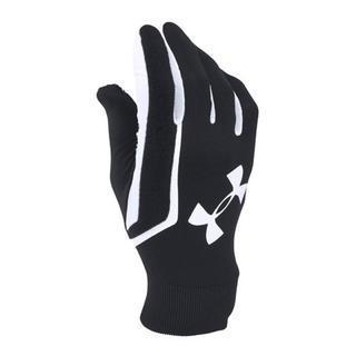 UNDER ARMOUR - 残少 アンダーアーマー MD ブラック ホワイト グローブ 手袋 防寒 メンズ