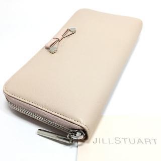 JILLSTUART - 格安未使用!ジルスチュアート シャイニング ラウンドファスナー長財布e953