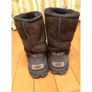 アグ(UGG)のUGG ムートンブーツ 22cm ブラウン(ブーツ)