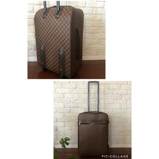 ルイヴィトン(LOUIS VUITTON)の【状態良好】ルイヴィトン  ダミエ55 スーツケース(スーツケース/キャリーバッグ)
