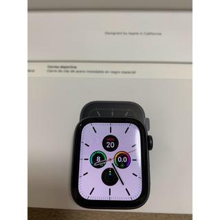 週末のお値下げApple Watch S5 44mm GPS+LTEアルミニウム