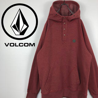 ボルコム(volcom)のボルコム VOLCOM ヘンリーネック スナップボタン ワンポイント パーカー(パーカー)