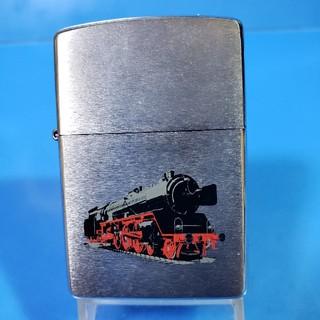 ジッポー(ZIPPO)の新品箱無し❤99F'ZIPPO❤蒸気機関車❤ブラッシュクローム❤送料無料(タバコグッズ)