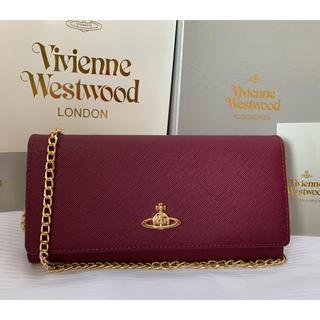 Vivienne Westwood - 【VIVIENNE WESTWOOD】長財布 バグダッドレッド