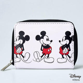 SHIPS - 新品 未使用 mini付録  SHIPS ミッキーマウス 二つ折り財布