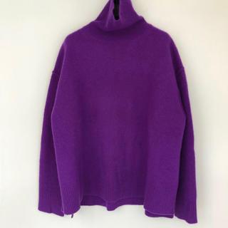 LE CIEL BLEU - 1月25日まで13500❤️ほぼ新品❤️ルシェルブルー ウールカシミヤセーター
