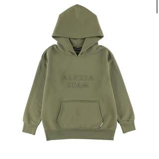 アリシアスタン(ALEXIA STAM)のEmboss Logo Hoodie Sweatshirt(トレーナー/スウェット)