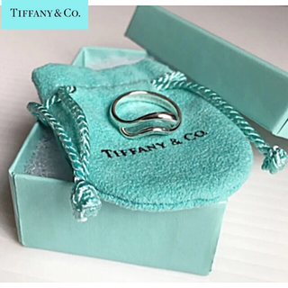 Tiffany & Co. - ★*゜Tiffany & Co.sv925 ペレッティティアドロップリング12号
