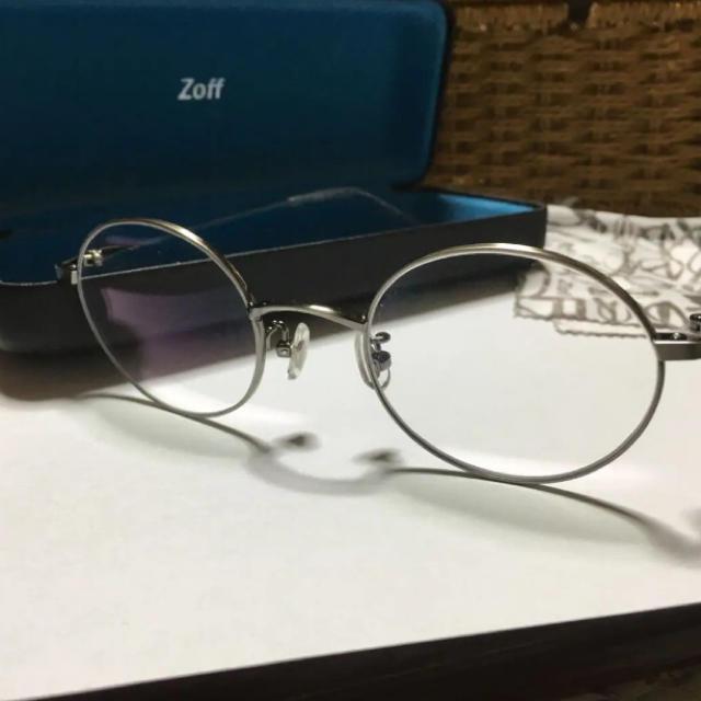 Zoff(ゾフ)のクリアレンズ 度なし zoff メガネクラッシック レディースのファッション小物(サングラス/メガネ)の商品写真