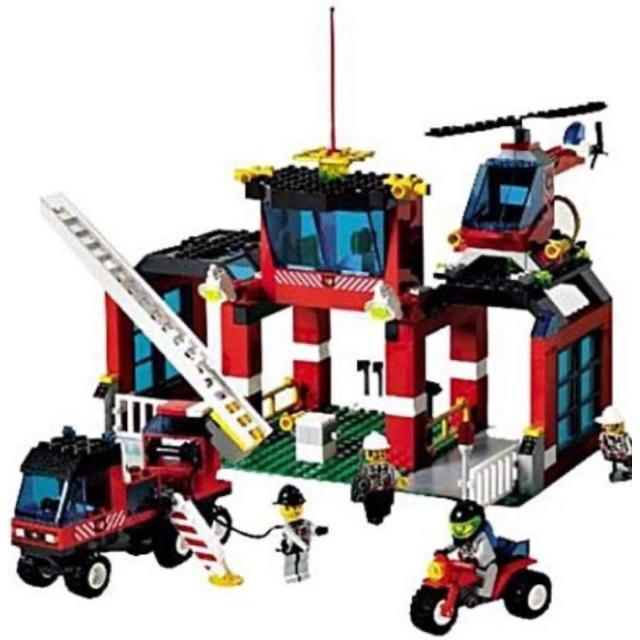 Lego(レゴ)のレゴ CI-6478 消防隊本部(CC) エンタメ/ホビーのおもちゃ/ぬいぐるみ(その他)の商品写真