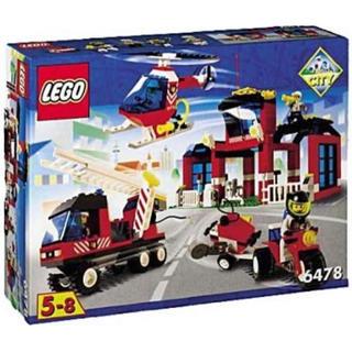レゴ(Lego)のレゴ CI-6478 消防隊本部(CC)(その他)