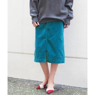 Spick and Span - スピックアンドスパン コーデュロイタイトスカート
