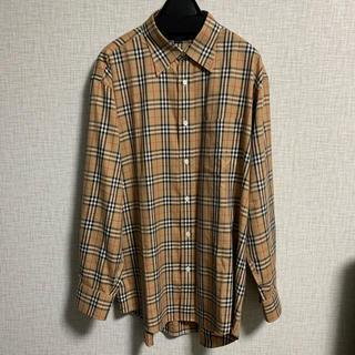 BURBERRY - BURBERRY チェックシャツ LL