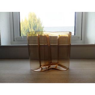 イッタラ(iittala)のイッタラ★Aalto Vase アアルトベース★ブラウン 16センチ(花瓶)