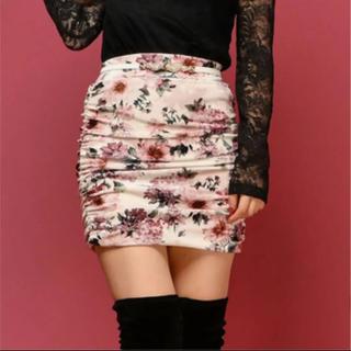 Delyle NOIR - 花柄タイトスカート