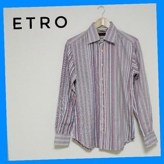 エトロ(ETRO)の《イタリアの装い》エトロ ストライプシャツ(シャツ)