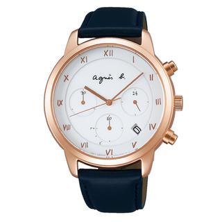 アニエスベー(agnes b.)のagnes b. アニエスベー Marcello マルチェロ ソーラー 腕時計(腕時計(アナログ))