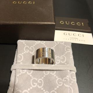 Gucci - グッチ GUCCI リング メンズ/レディース ロゴ刻印 リング