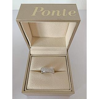 ポンテヴェキオ(PonteVecchio)の☆定価20万強*プレーティング済のほぼ新品☆ポンテベッキオ ピンキーリング 4号(リング(指輪))