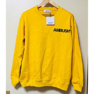アンブッシュ(AMBUSH)の新品 AMBUSH スウェットトレーナー  新品未使用(スウェット)