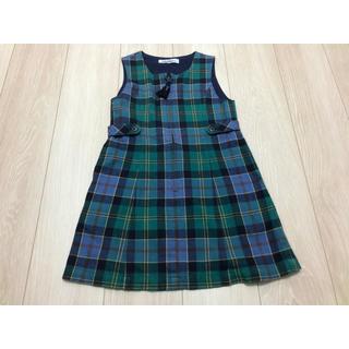 familiar - ファミリア/ワンピース/ジャンパースカート/120cm/110cm/チェック
