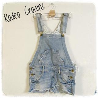 ロデオクラウンズ(RODEO CROWNS)の❤Rodeo Crowns❤ 美品✩ オーバーオール サイズM(サロペット/オーバーオール)