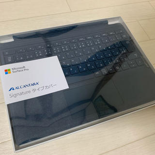 Microsoft - surface pro キーボード タイプカバー アルカンターラ製