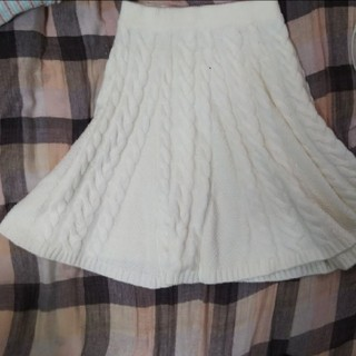 アニエスベー(agnes b.)のニット スカート  ❬1月末迄❭(ひざ丈スカート)