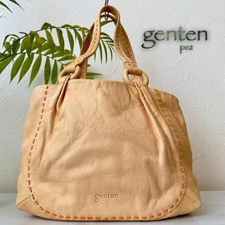 ゲンテン(genten)のgenten ゲンテン 総本革 レザートートバッグ 鞄(ハンドバッグ)