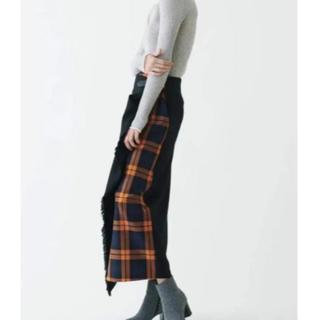 トゥモローランド(TOMORROWLAND)のオニールオブダブリン ディップスカート トゥモローランド 美品(ロングスカート)