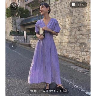Ameri VINTAGE - ameri 完売済み 新品タグ付き CACHE COEUR DRESS