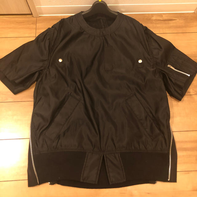 sacai(サカイ)のsacai サカイ MA-1 ナイロンブルゾン 2  レディースのジャケット/アウター(ブルゾン)の商品写真