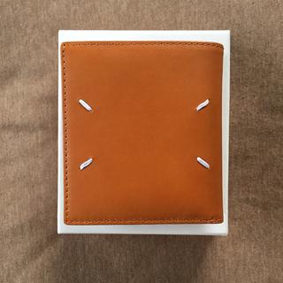 Maison Martin Margiela - 19SS新品 メゾンマルジェラ カーフレザー 折り財布 タン ウォレット メンズ