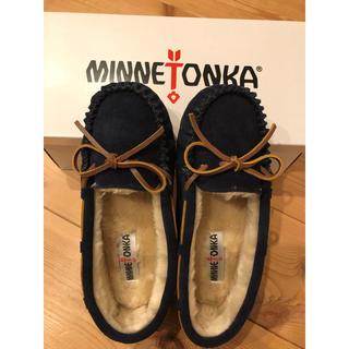 Minnetonka - 新品 24 ミネトンカ ファー モカシン 24