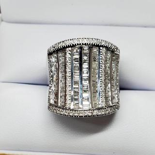 K18♡豪華ギラギラ♡ダイヤモンドリング 1.65ct(リング(指輪))