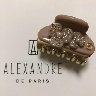 Alexandre de Paris - 新品 アレクサンドルドゥパリ カメリアクリップ 4.5㎝