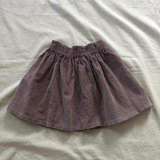 Bonpoint - 美品♡C&S フレンチコーデュロイ  あずきみるくスカート  サイズ110
