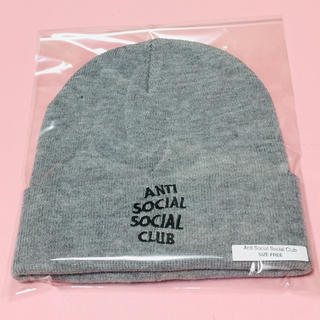アンチ(ANTI)のアンチソーシャルソーシャルクラブ ニット帽 ニット(ニット帽/ビーニー)