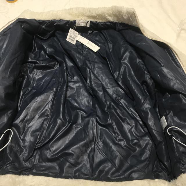 SCOT CLUB(スコットクラブ)のmayiris様専用!スコットクラブ soeur7 暖かリラクシーボアブルゾン  レディースのジャケット/アウター(ブルゾン)の商品写真