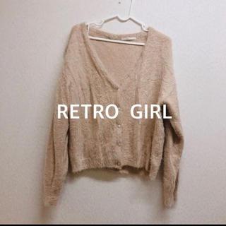 RETRO GIRL - RETORO GIRL/ニットカーディガン