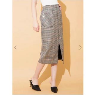 Noble - sophila  ソフィラ  チェックタイトスカート