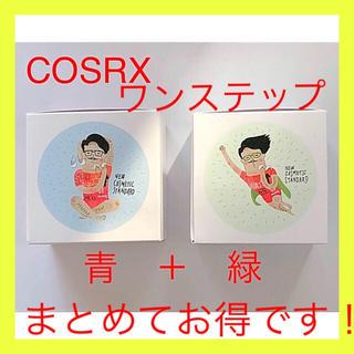 COSRX グリーンヒーローカーミングパッド+モイスチャーアップパッド