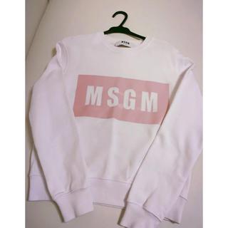 エムエスジイエム(MSGM)のMSGM スウェット パーカー 美品(トレーナー/スウェット)