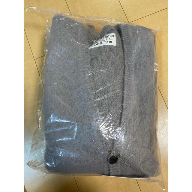 WACKO MARIA(ワコマリア)の最安値ワコマリア モヘアニットカーディガン 野村訓市着用 メンズのトップス(カーディガン)の商品写真