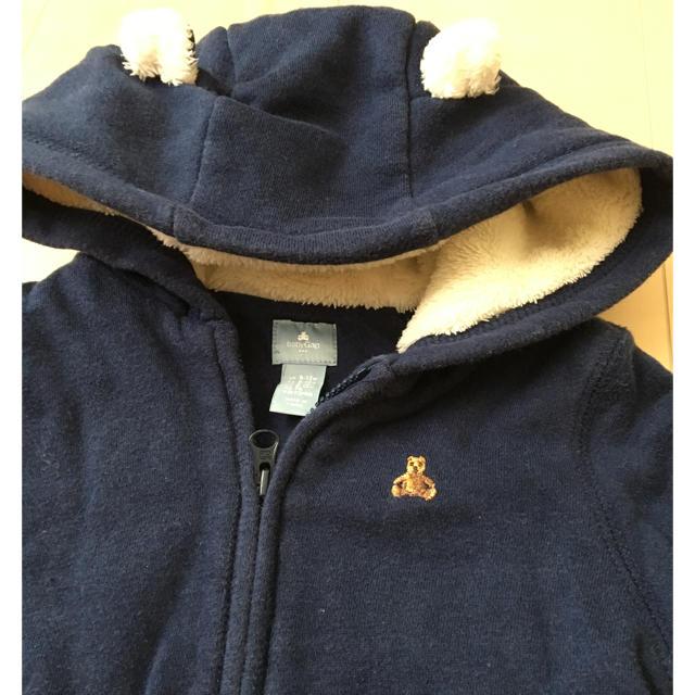 babyGAP(ベビーギャップ)のbabyGAP ジャンパー 70センチ ネイビー キッズ/ベビー/マタニティのベビー服(~85cm)(ジャケット/コート)の商品写真